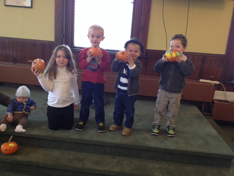 Pumpkin Decorating at our Delaware Free Branch