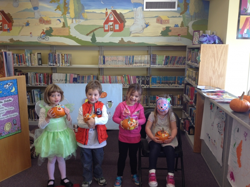 Pumpkin Decorating at our Jeffersonville Branch